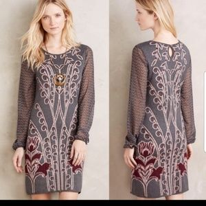Anthropologie Knitted & Knotted sweater dress NWT